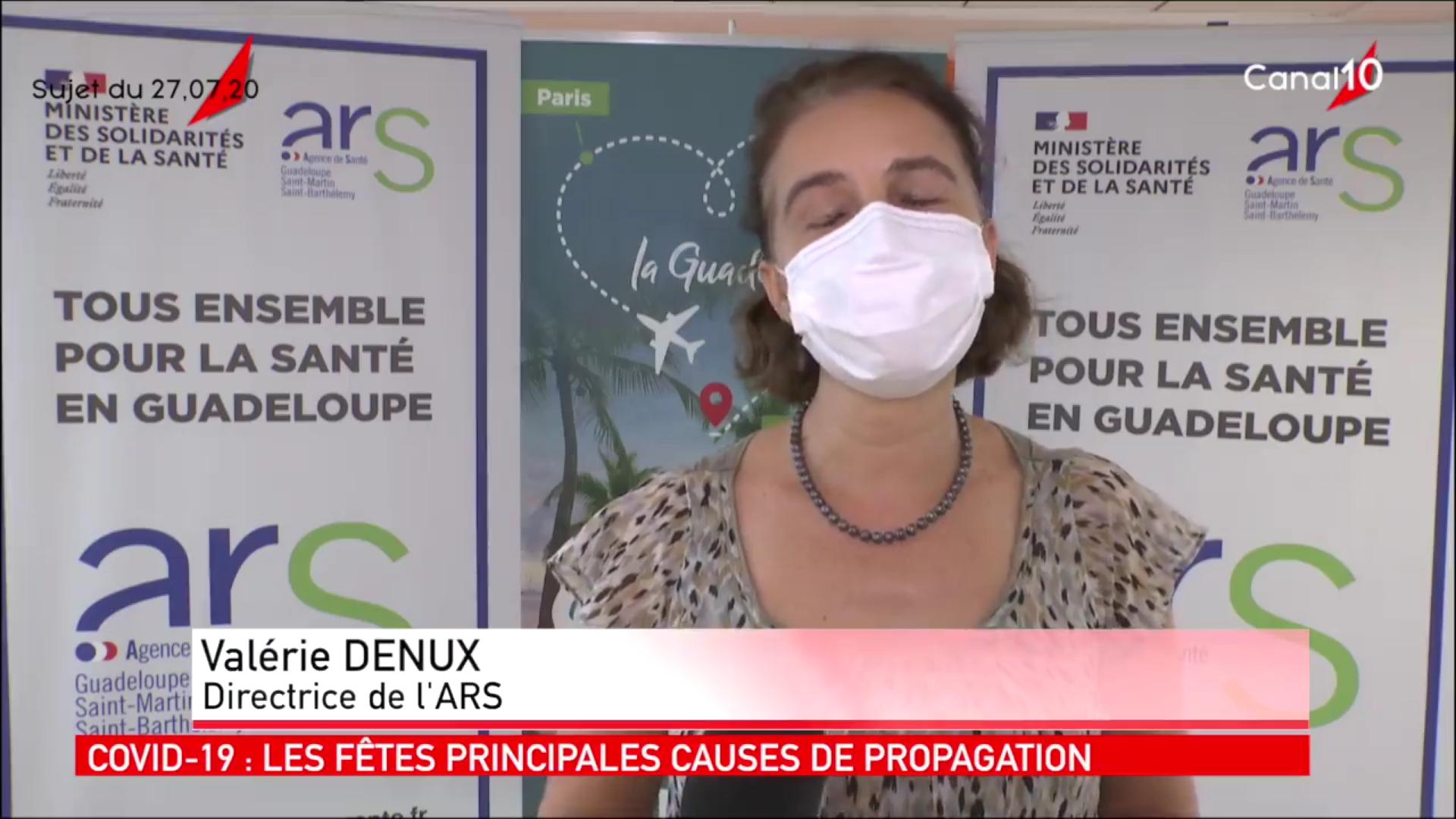  Vidéo] Covid 19 Guadeloupe inquiétude sur une reprise de l'épidémie La directrice de L'ARS s'exprime