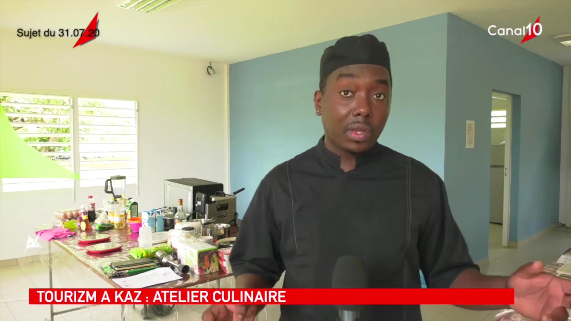 [Vidéo] Onews Guadeloupe.Tourizm à Kaz atelier culinaire (canal 10)