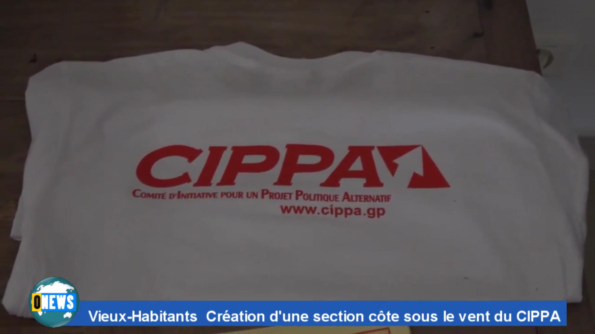 [Vidéo] Onews Guadeloupe. Création dun CIPPA en Côte sous le vent