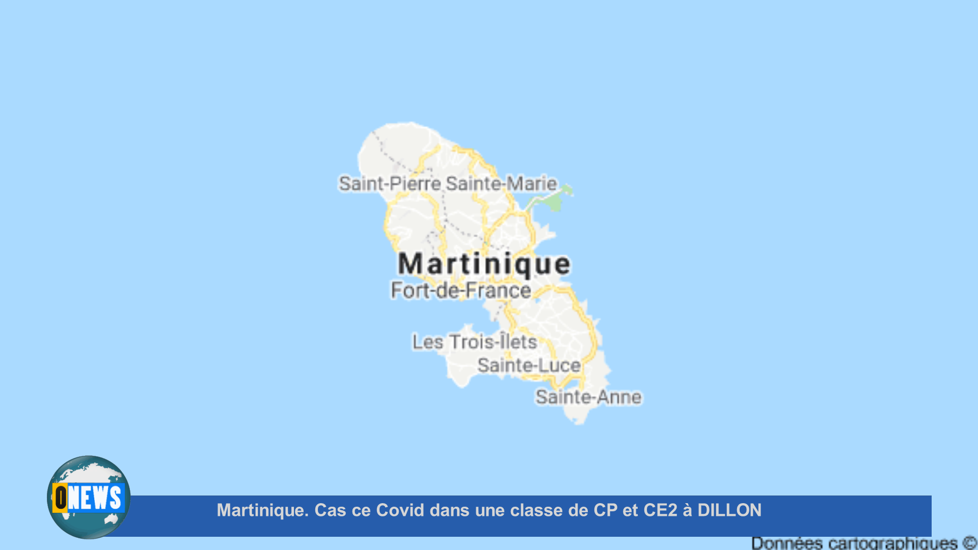 [Vidéo] Onews Martinique. Cas de Covid dans une classe de CP et CE2 à DILLON