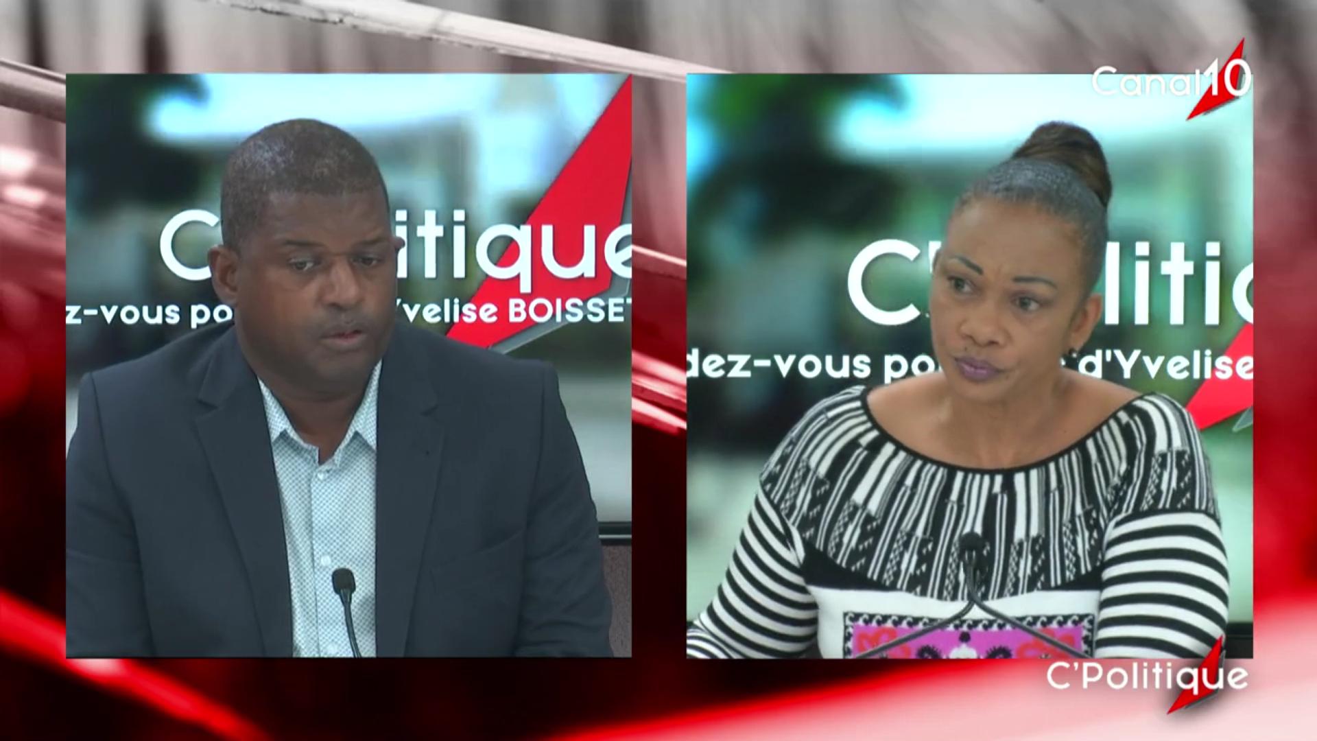 [Vidéo] Onews Guadeloupe. Guy LOSBAR Invité de C politique avec Yvelise BOISSET