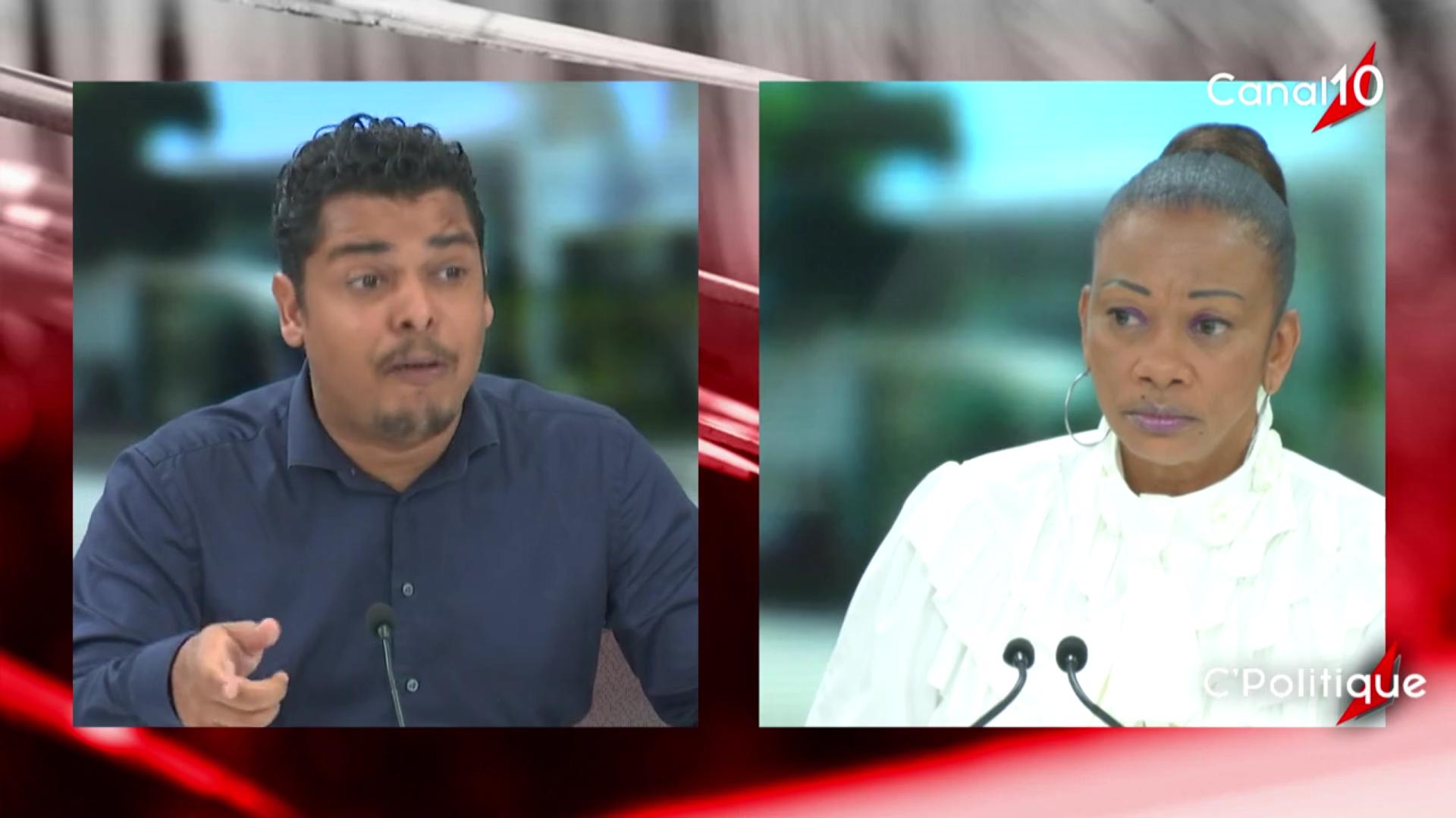 [Vidéo] Onews Guadeloupe. Cédric CORNET maire du Gosier Invité de C politique d Yvelise BOISSET