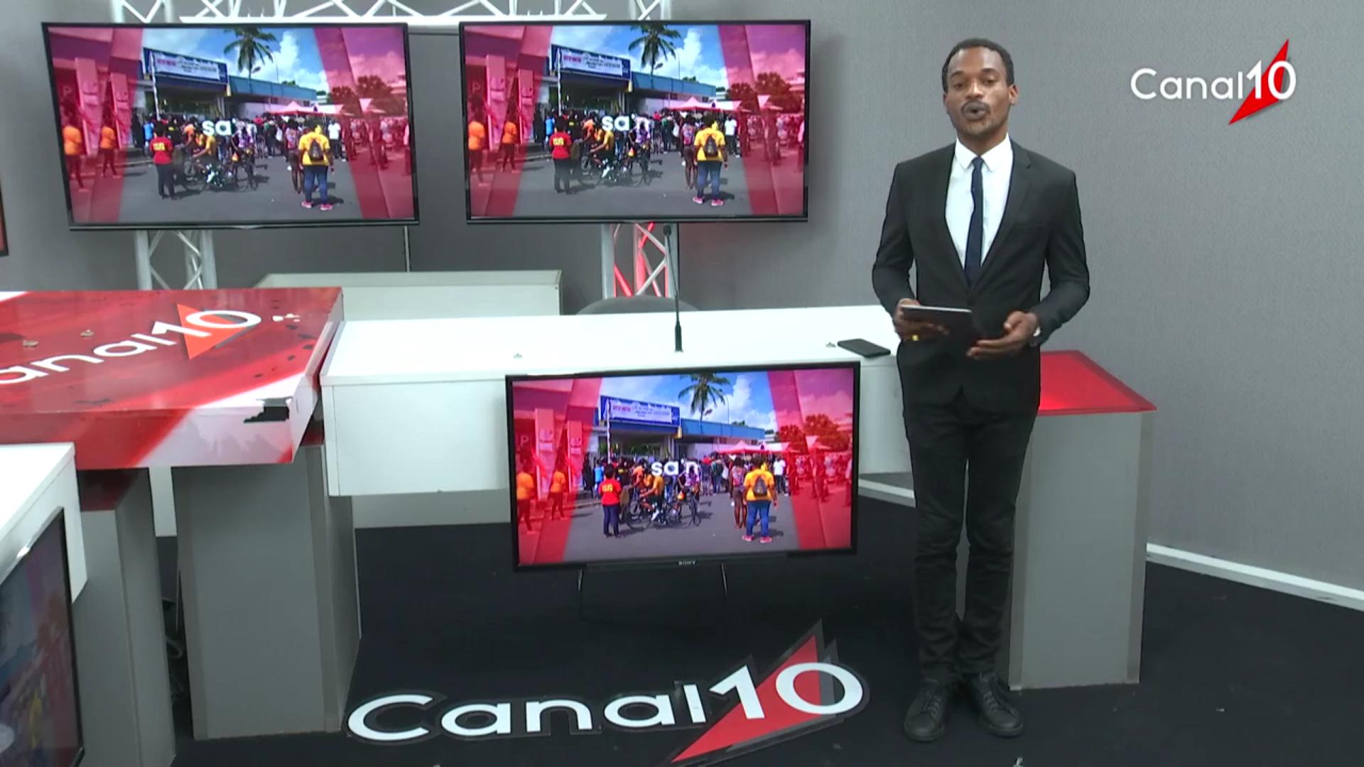 [Vidéo]Onews Guadeloupe. LeJt de Canal 10
