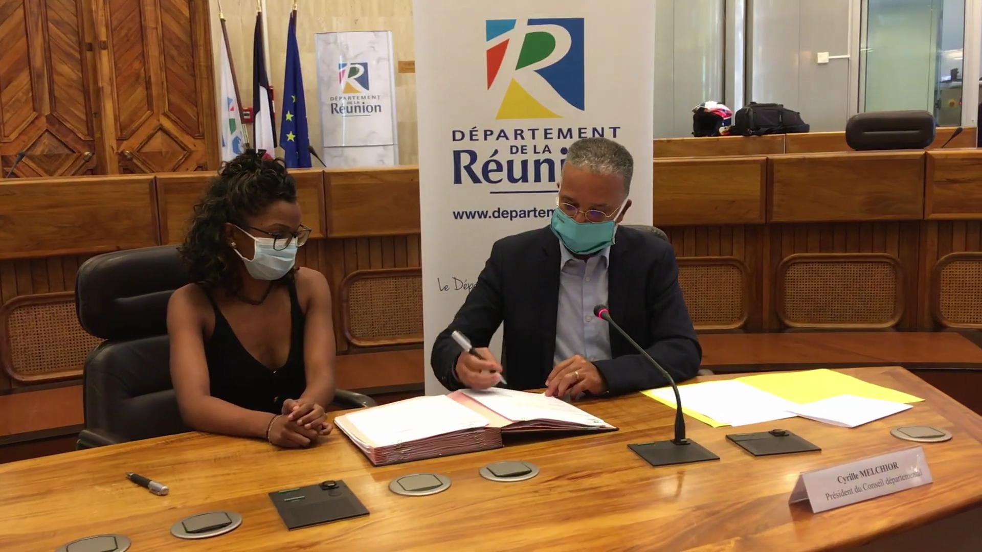[Vidéo] Onews Réunion.Signature des premiers contrats R+