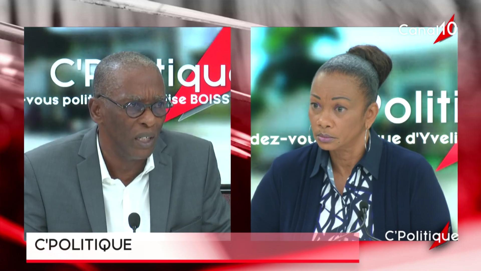 [Vidéo] Onews Guadeloupe. Harry DURIMEL Maire de Pointe à pitre invité de C politique (Canal10)