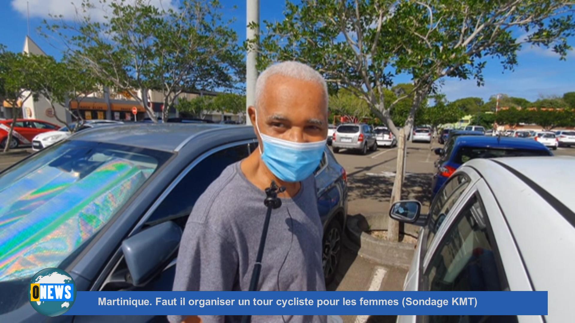 [Vidéo] Onews Martinique. Faut il organiser un tour cycliste pour les femmes (Sondage KMT)