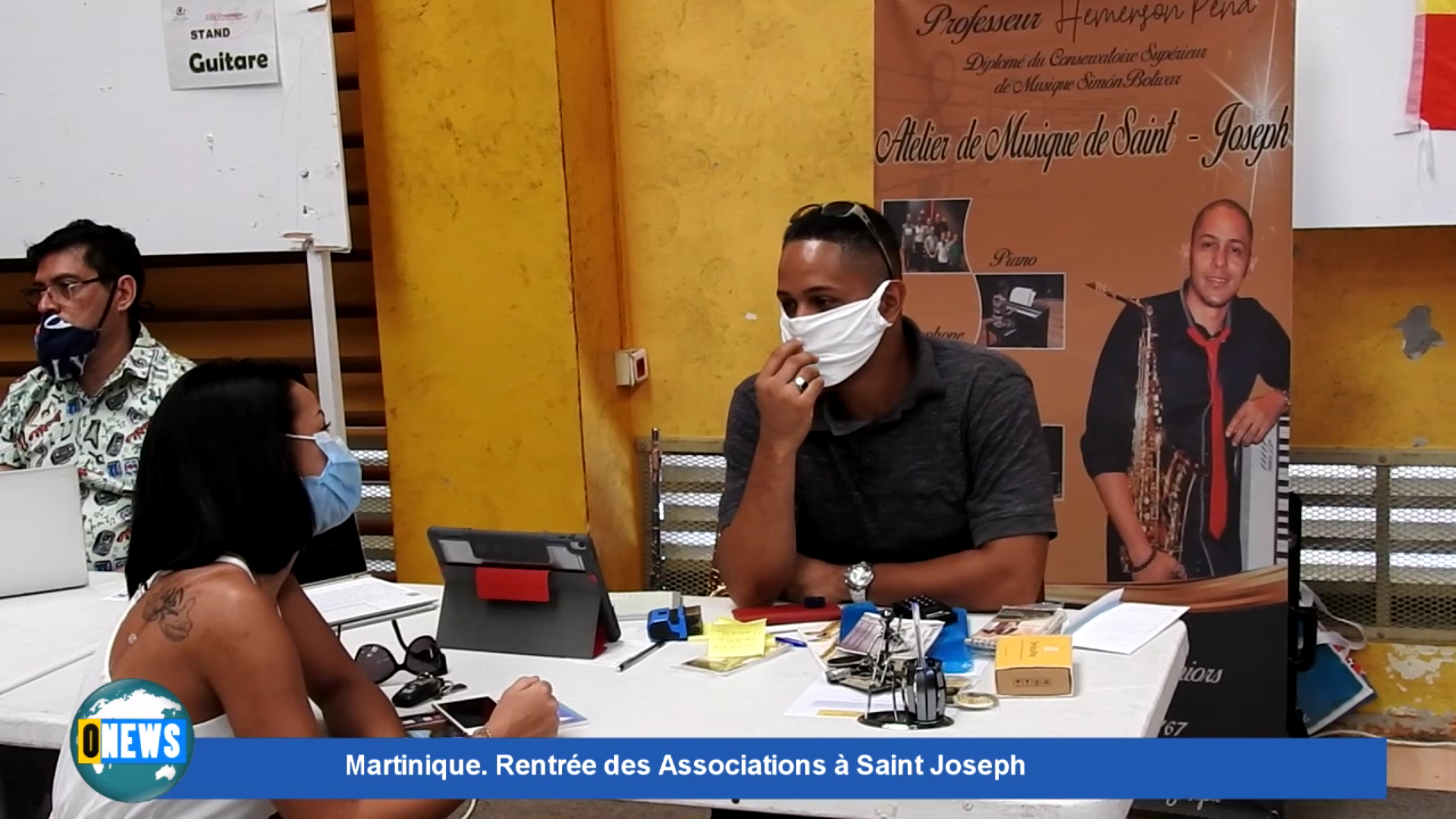 [Vidéo] Onews Martinique. Rentrée des Associations à Saint Joseph