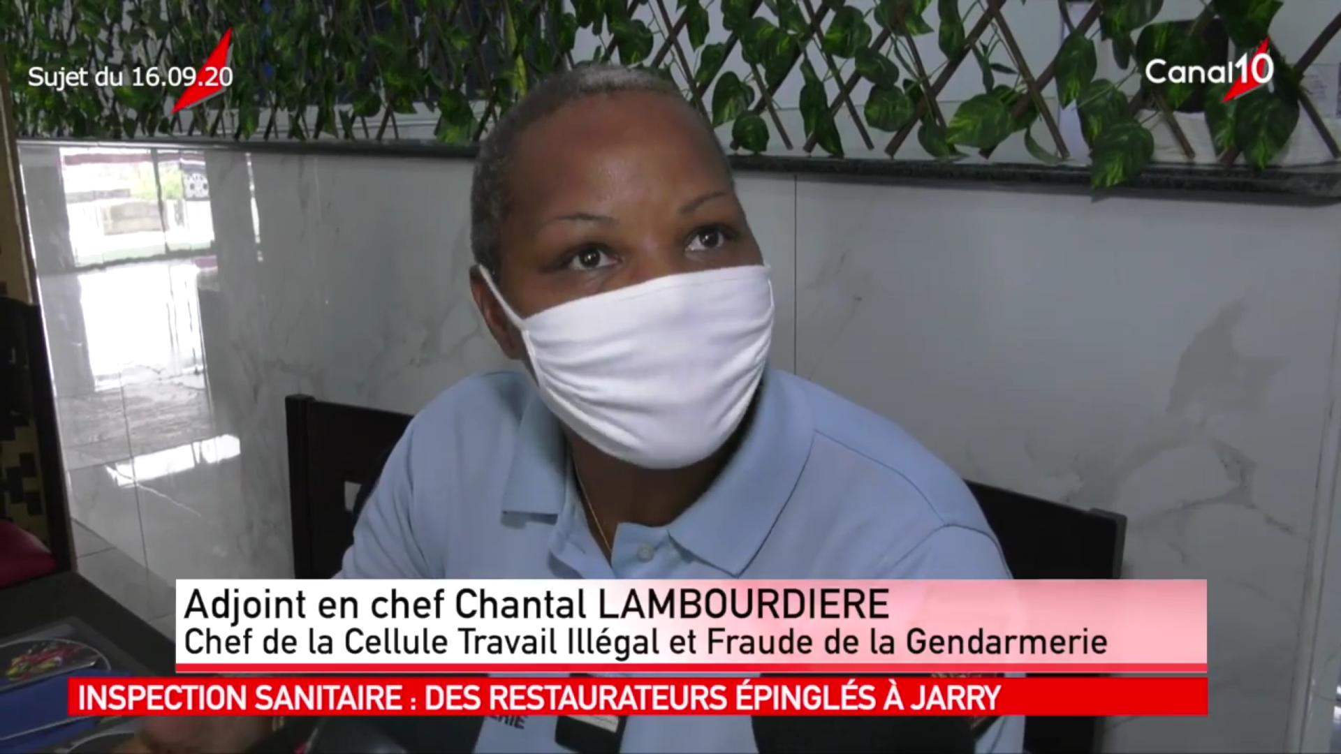 [Vidéo] Onews Guadeloupe.Plusieurs restaurateurs à jarry épinglés lors dun contrôle sanitaire
