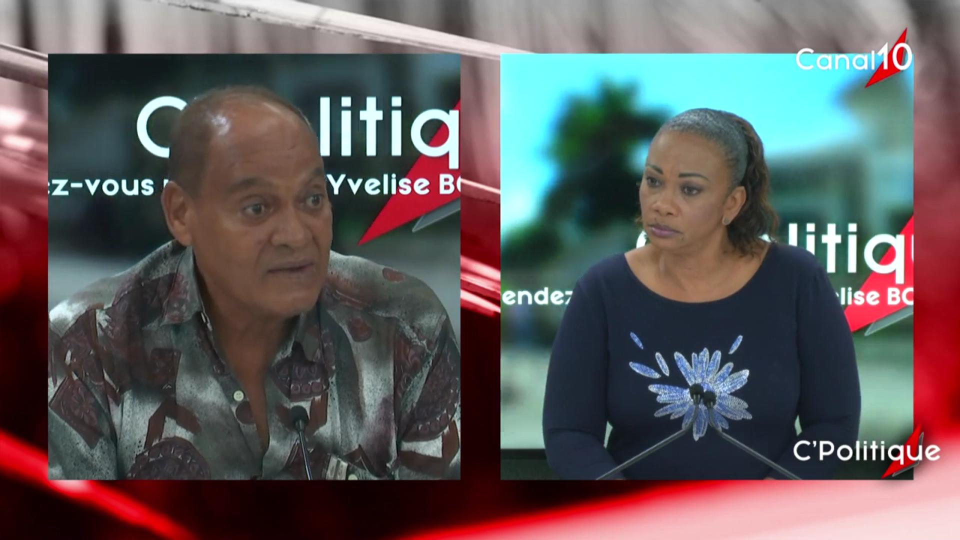 [Vidéo]Onews Guadeloupe. Jean Marie HUBERT invité de C Politique (Yvelise BOISSET)