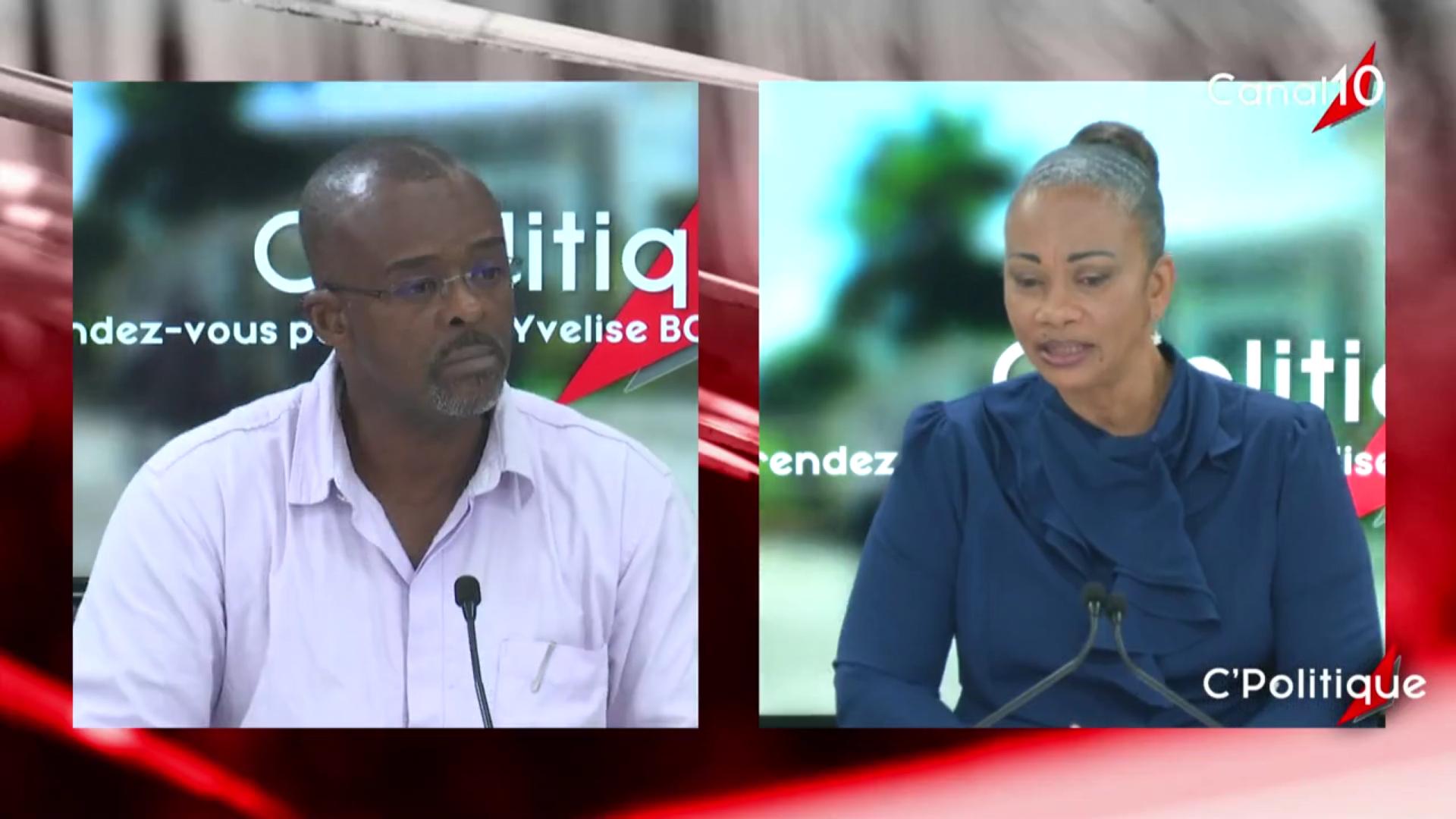 [Vidéo] Onews Guadeloupe. Onews Guadeloupe. Ary CHALUS Président de la Région  invité de C Politique (Yvelise BOISSET)
