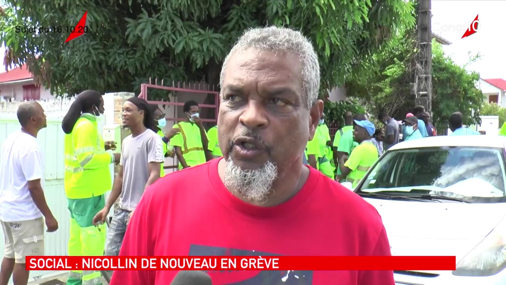 [Vidéo] Onews Guadeloupe. Les agents de l entreprise Nicollin à BasseTerre en grève (canal 10)