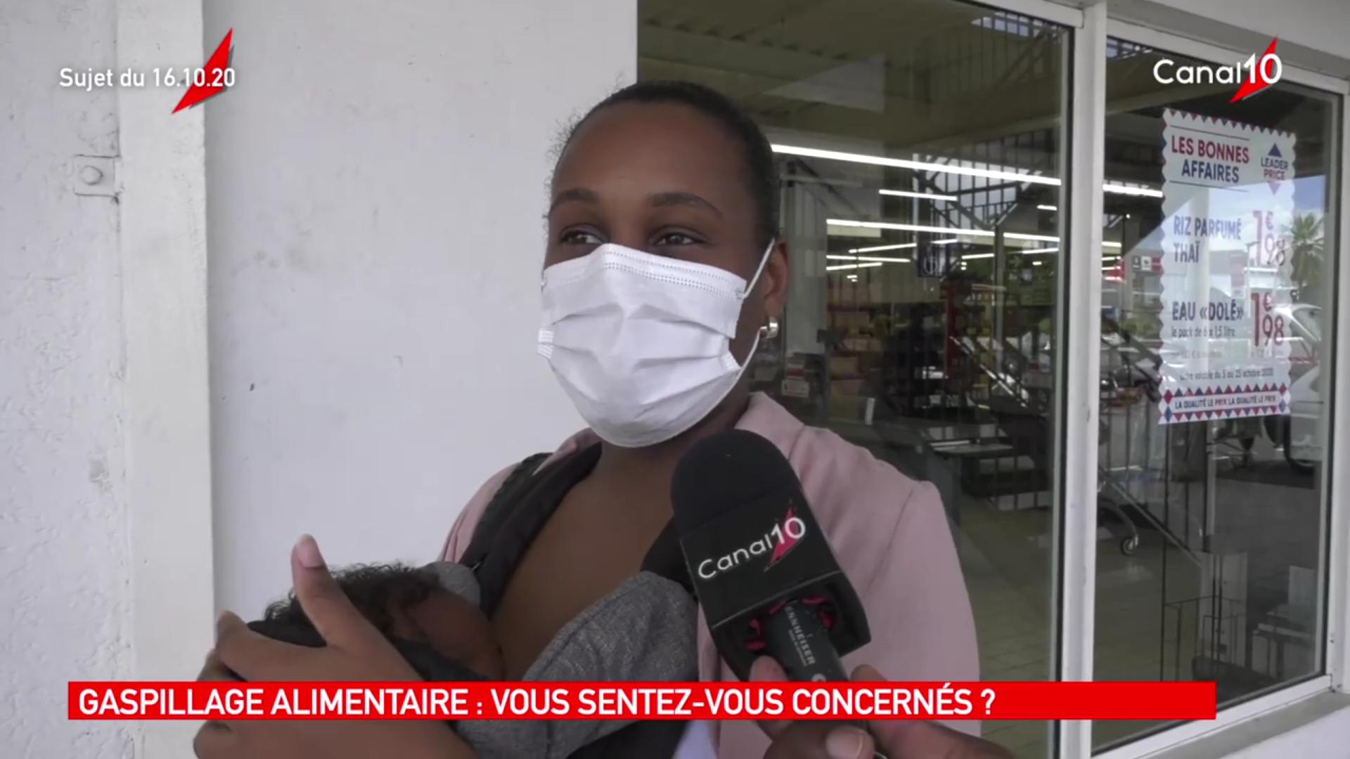 [Vidéo] Onews Guadeloupe.Micro Trottoir sur la la journée alimentaire (canal 10 )