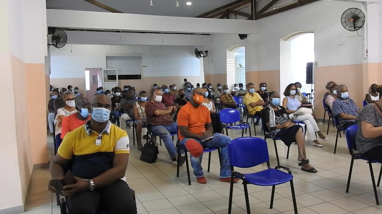 [Vidéo]Martinique. Alerte jaune Montagne Pelée. Réunion d information au Prêcheur