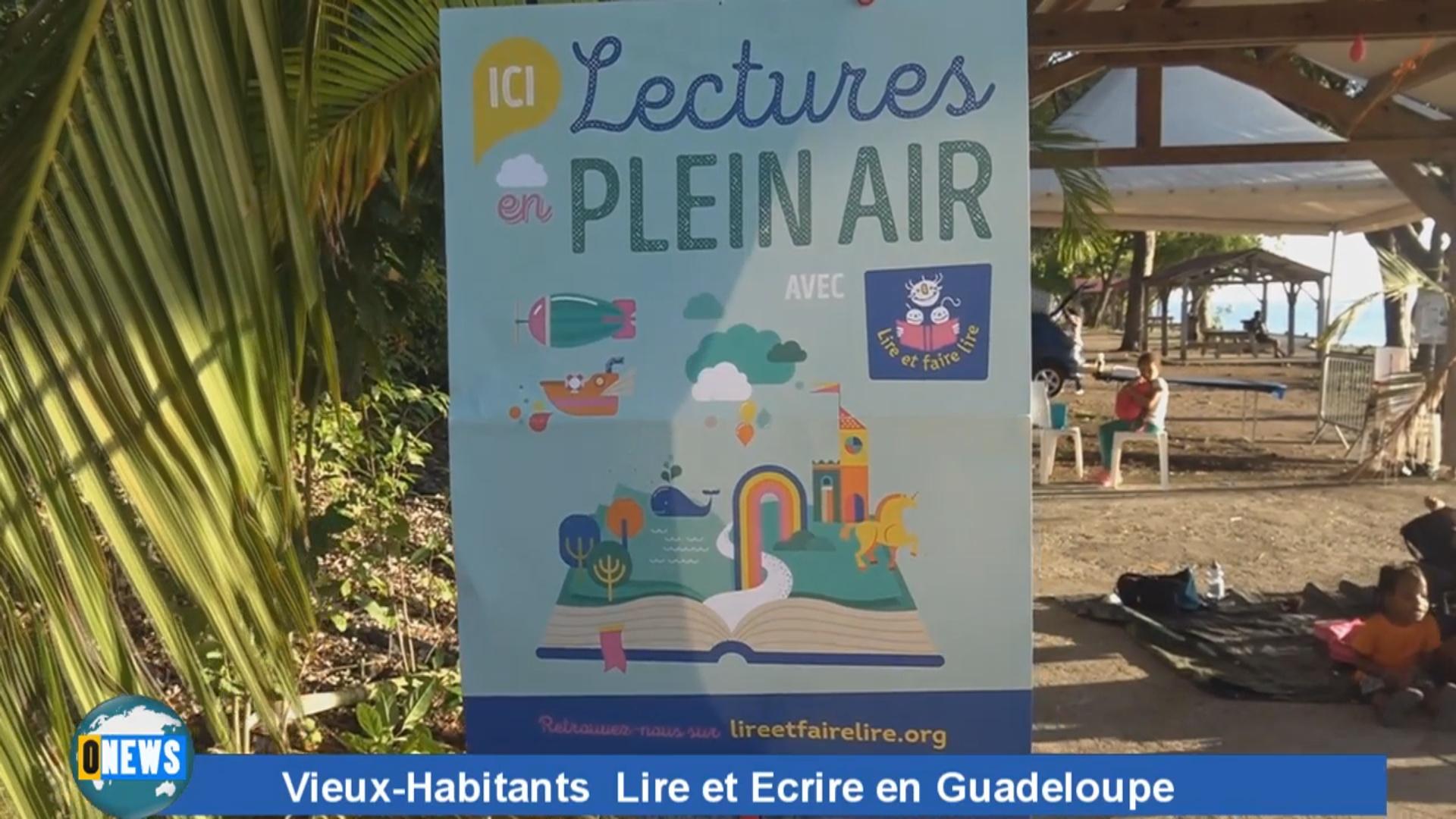 [Vidéo] Onews Guadeloupe. Manifestation Lire et écrire en Guadeloupe