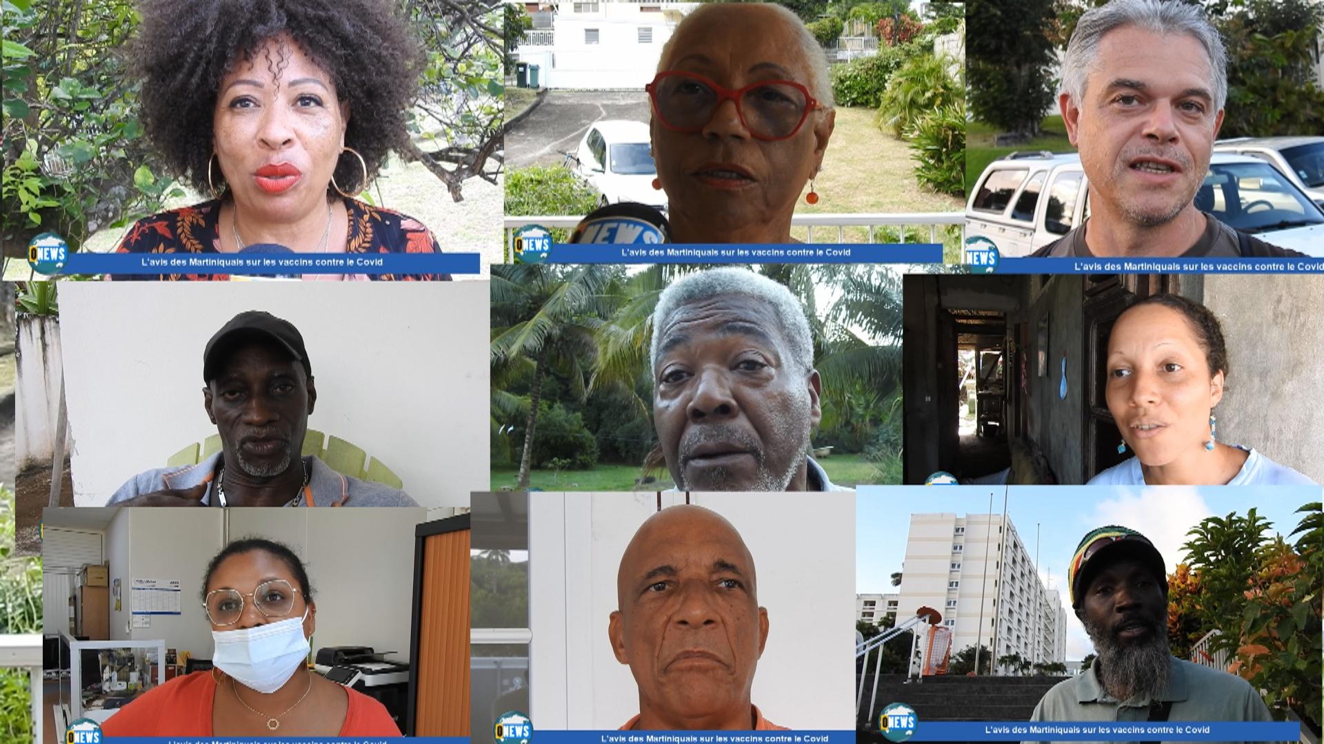 [Vidéo] Onews Martinique. Les martiniquais donnent leur avis sur les vaccins contre le covid