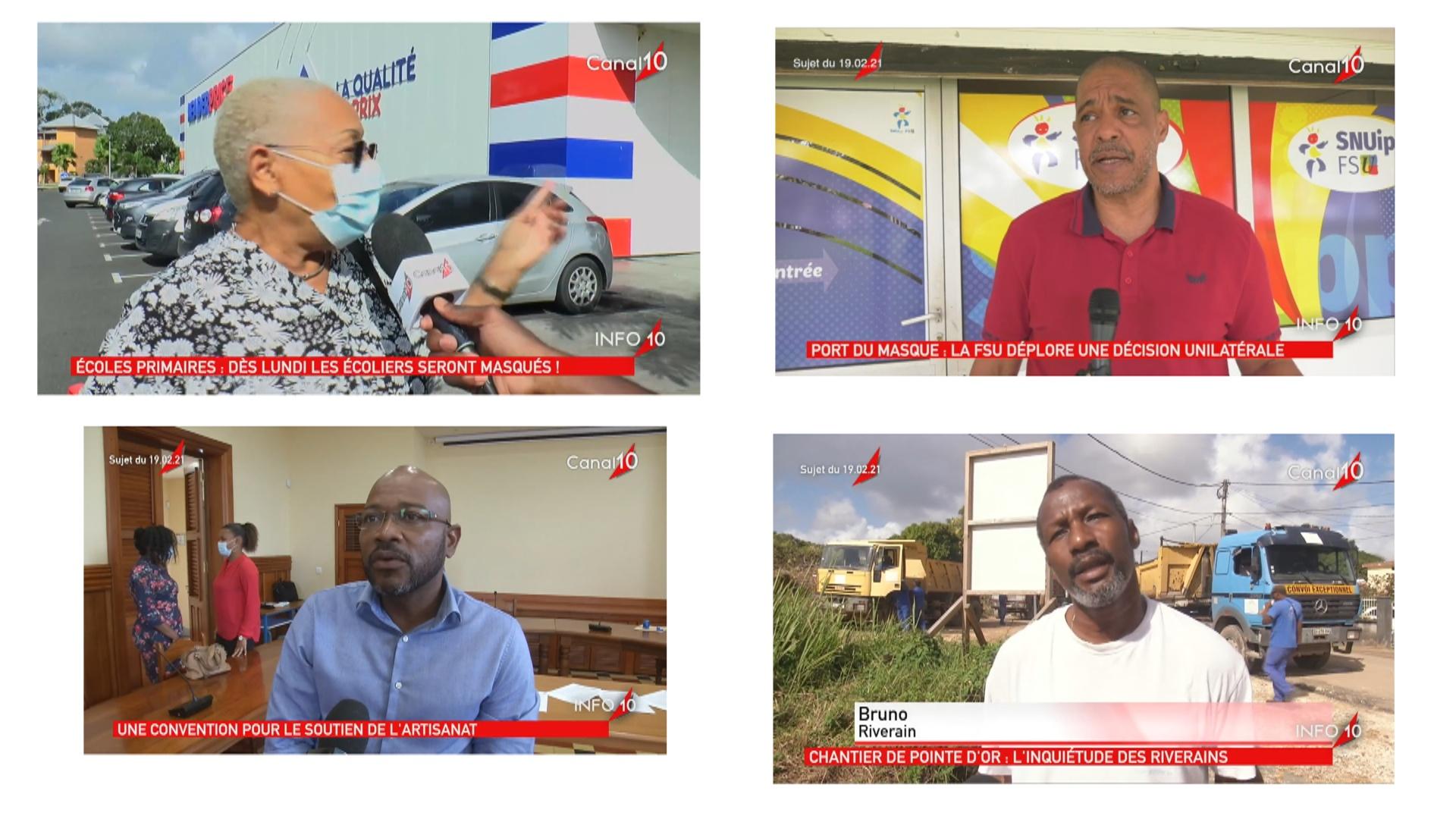 [Vidéo] Onews Guadeloupe.Le Jt de Canal 10
