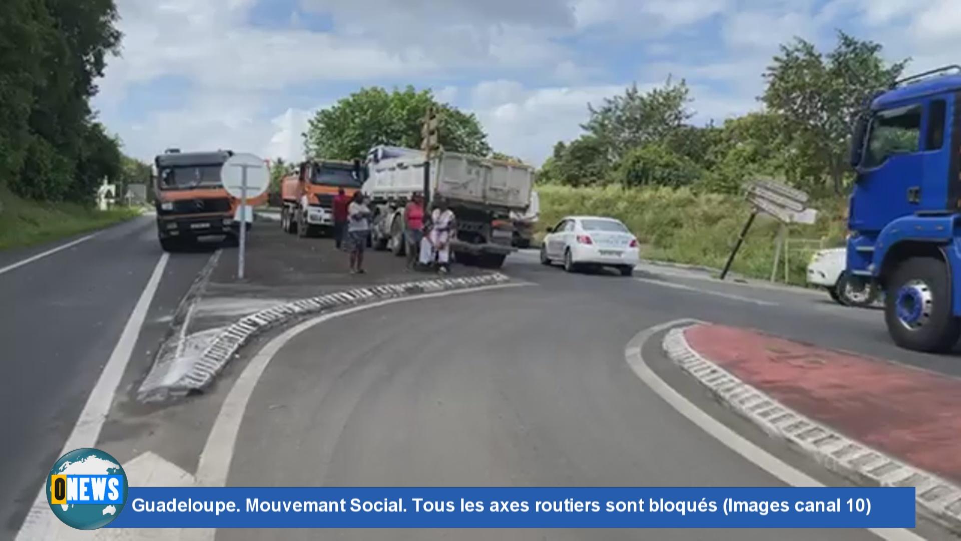 [Vidéo] Onews Guadeloupe. Tension sociale. Réaction du maire de capesterre Jean Philippe COURTOIS