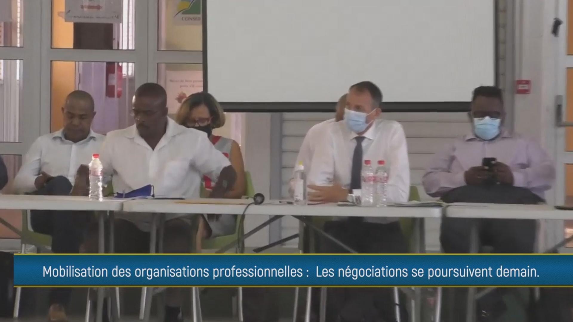 [Vidéo] Onews Guadeloupe. Mouvement social. Réactions après la Réunion avec Le Préfet