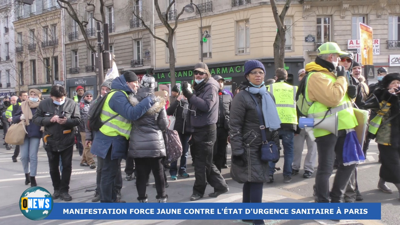 Onews Hexagone. Manifestation Force jaune à Paris ce samedi.