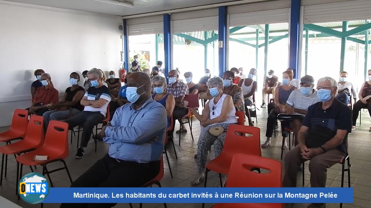 [Vidéo] Onews Martinique.Les habitants du Carbet invités à une Réunion sur la Montagne Pelée