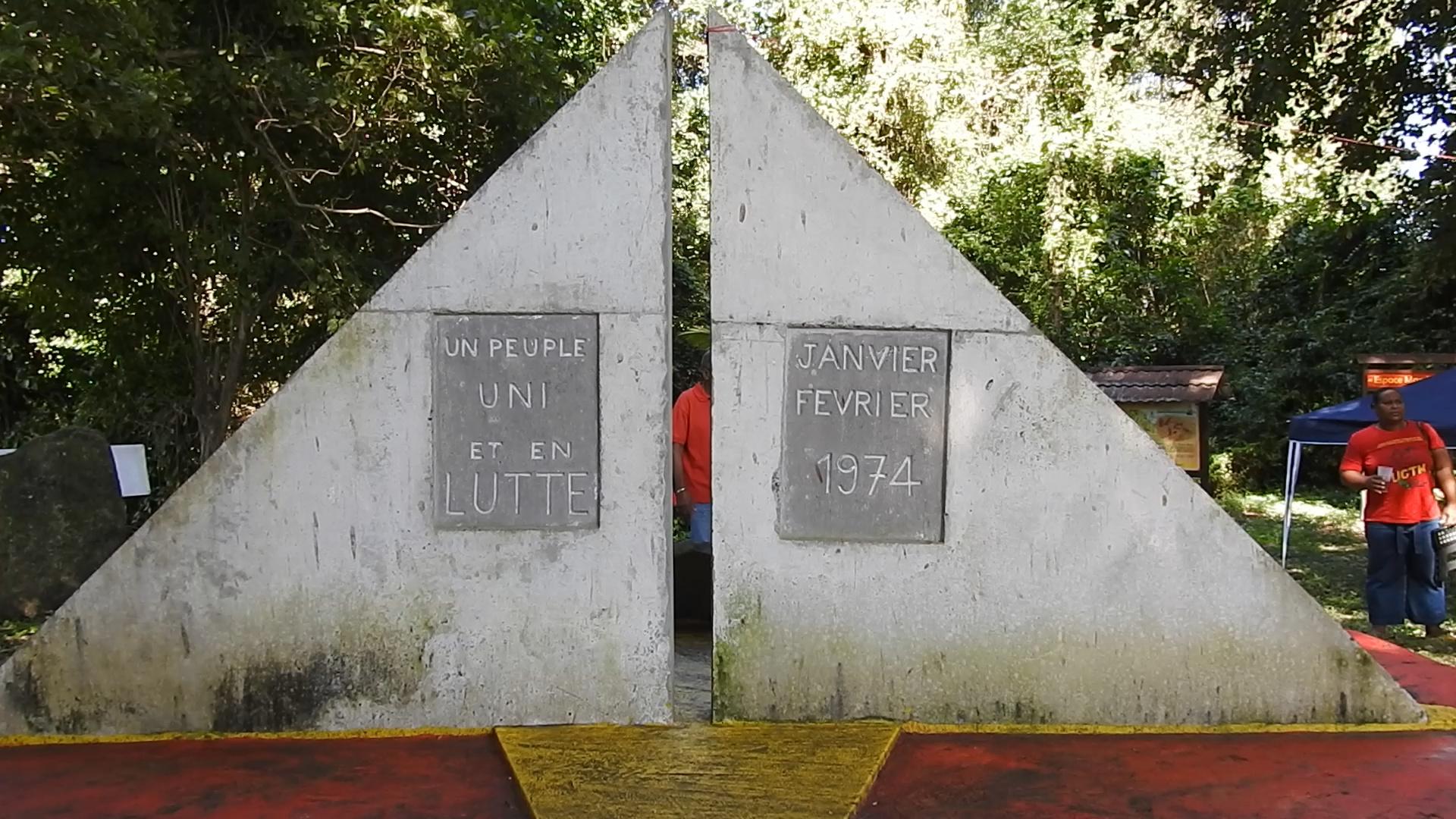 [Vidéo] Martinique. Commémoration à Basse Pointe en Hommage aux ouvriers morts en 1974