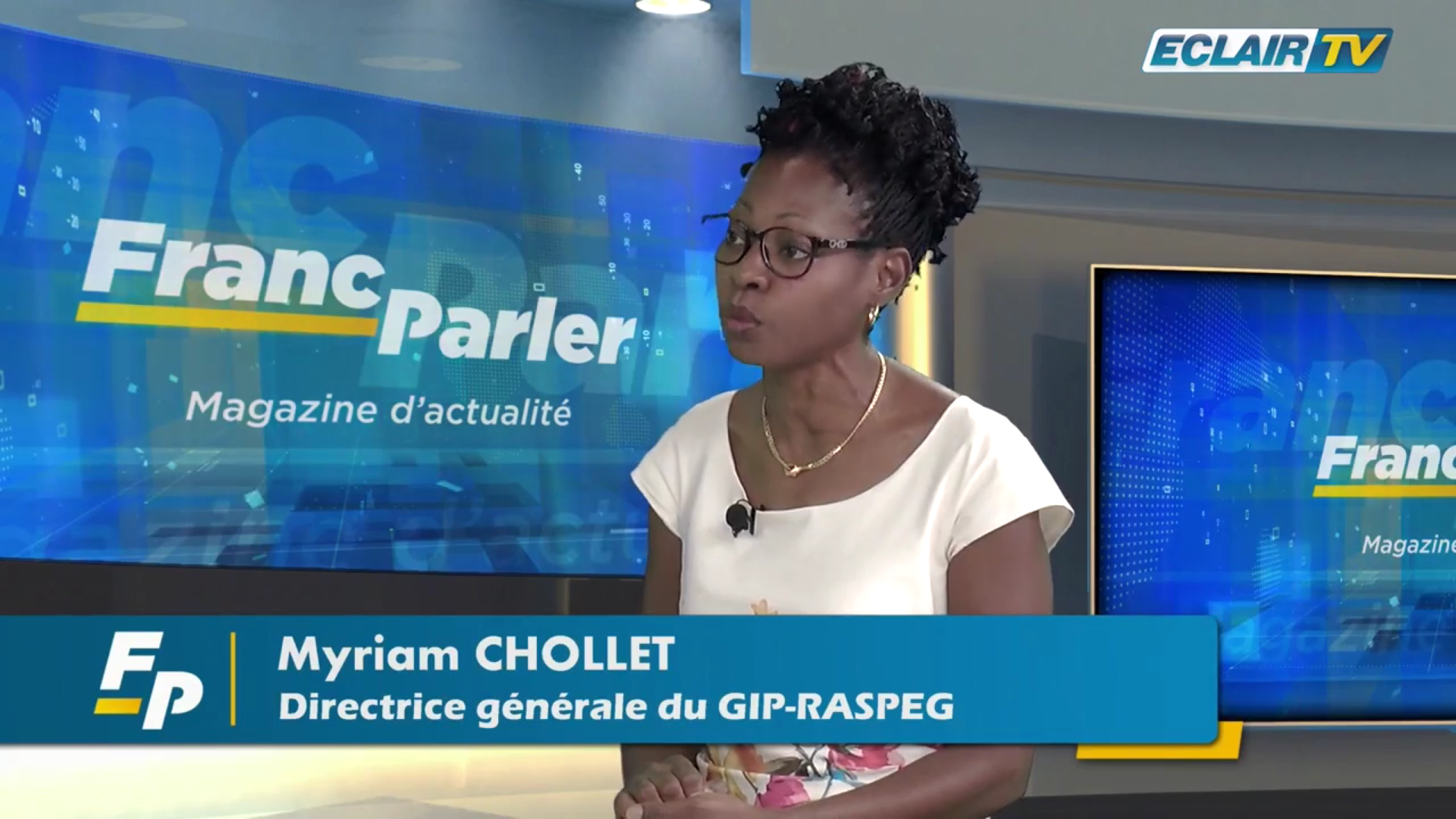 [Vidéo] Onews Guadeloupe. Myriam CHOLLET. Invité de Franc Parler(ECLAIR TV)