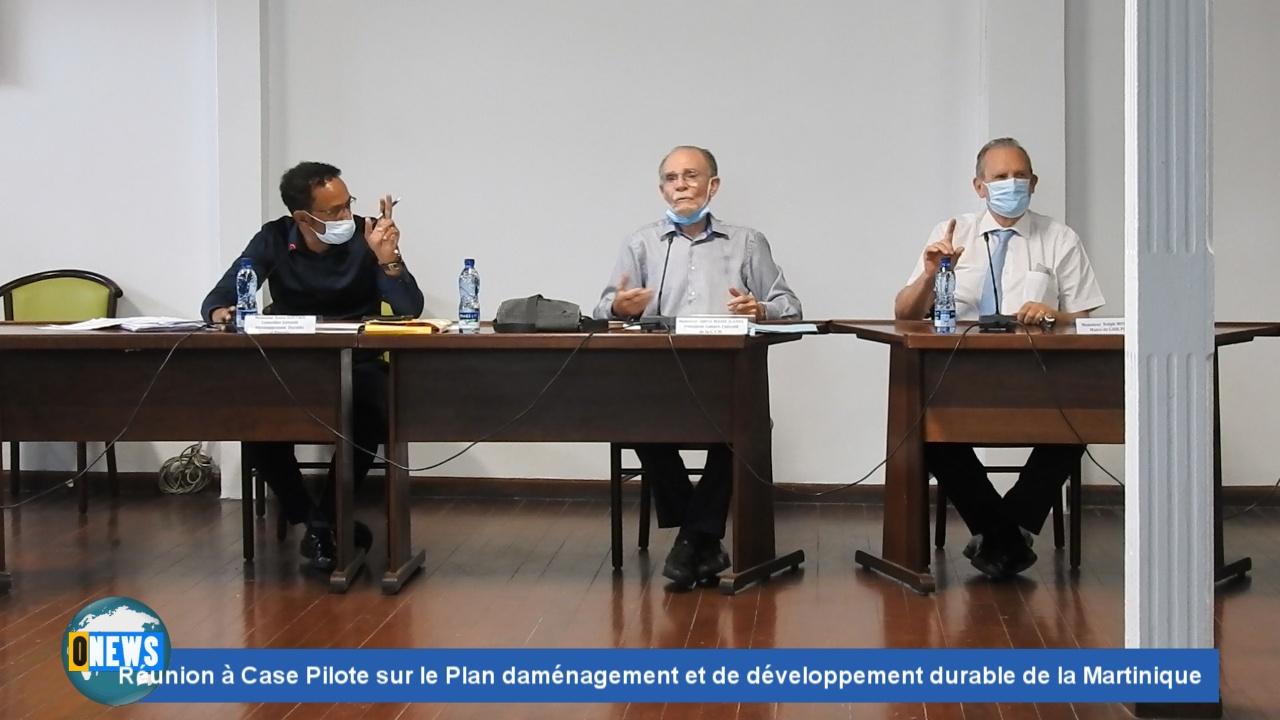 Onews Martinique. Réunion à Case Pilote sur le Plan d'aménagement et de développement durable de la Martinique