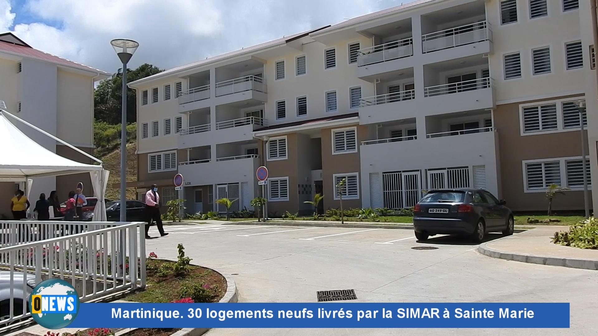 [Vidéo] Onews Martinique. 30 logements neufs livrés par la SIMAR à Sainte Marie