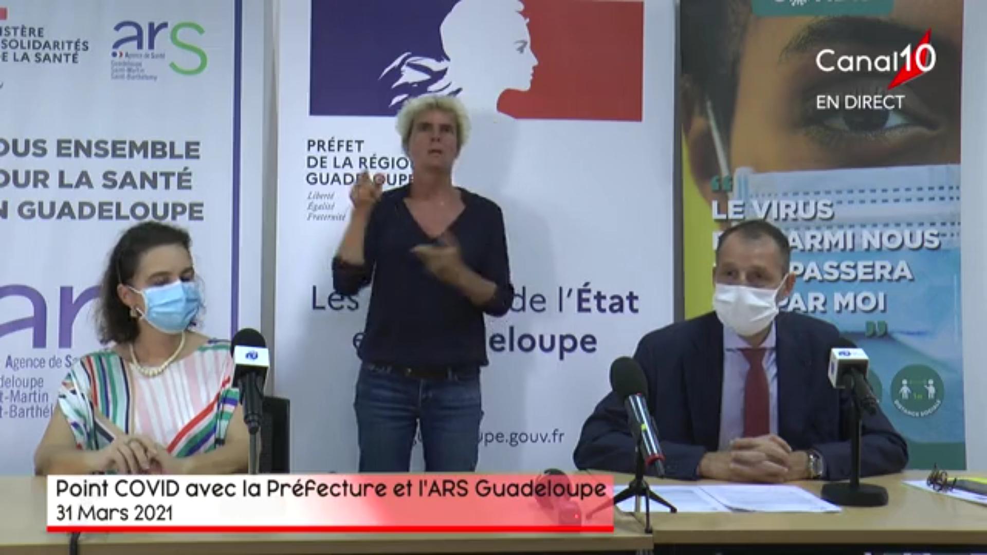 [Vidéo]Onews Guadeloupe. Covid. Point de situation 5 nouveaux décès , couvre feu avancé à 20h pour les fêtes de Pâques
