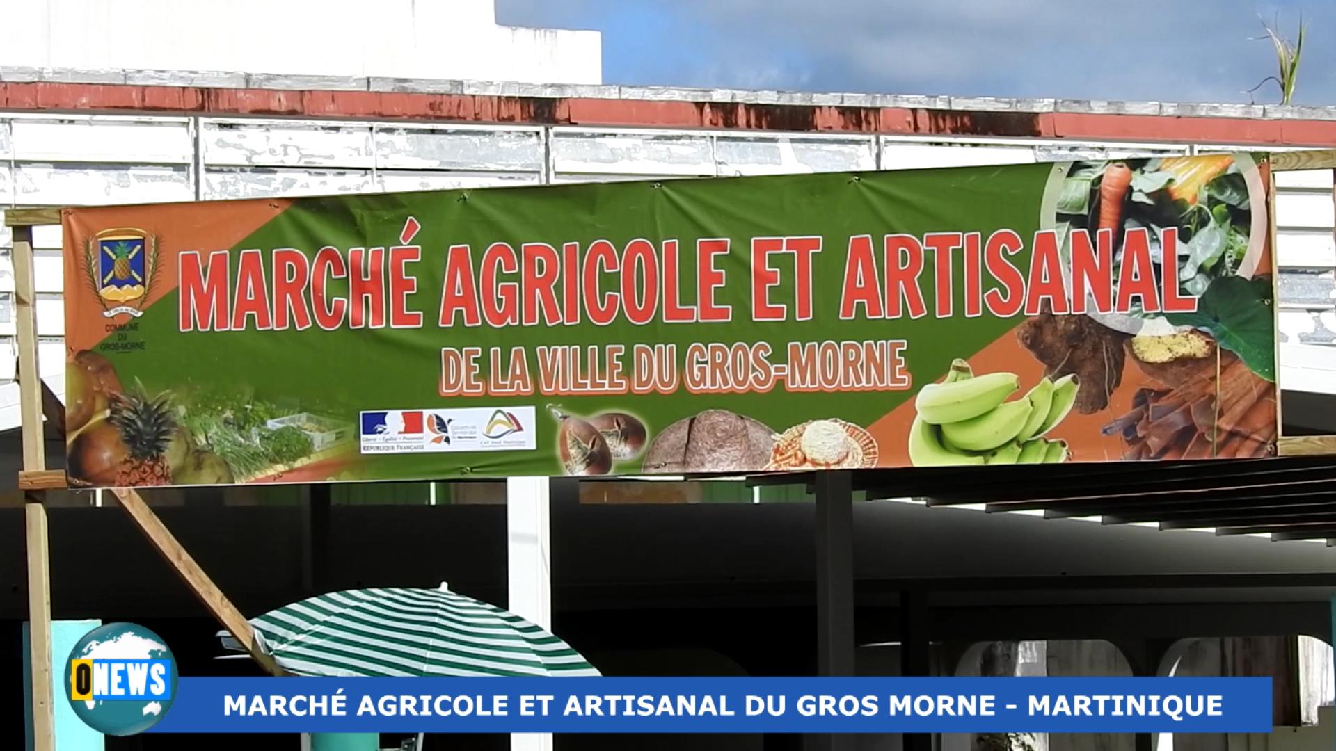 Onews Martinique. Marché Agricole et Artisanal du Gros Morne 2021