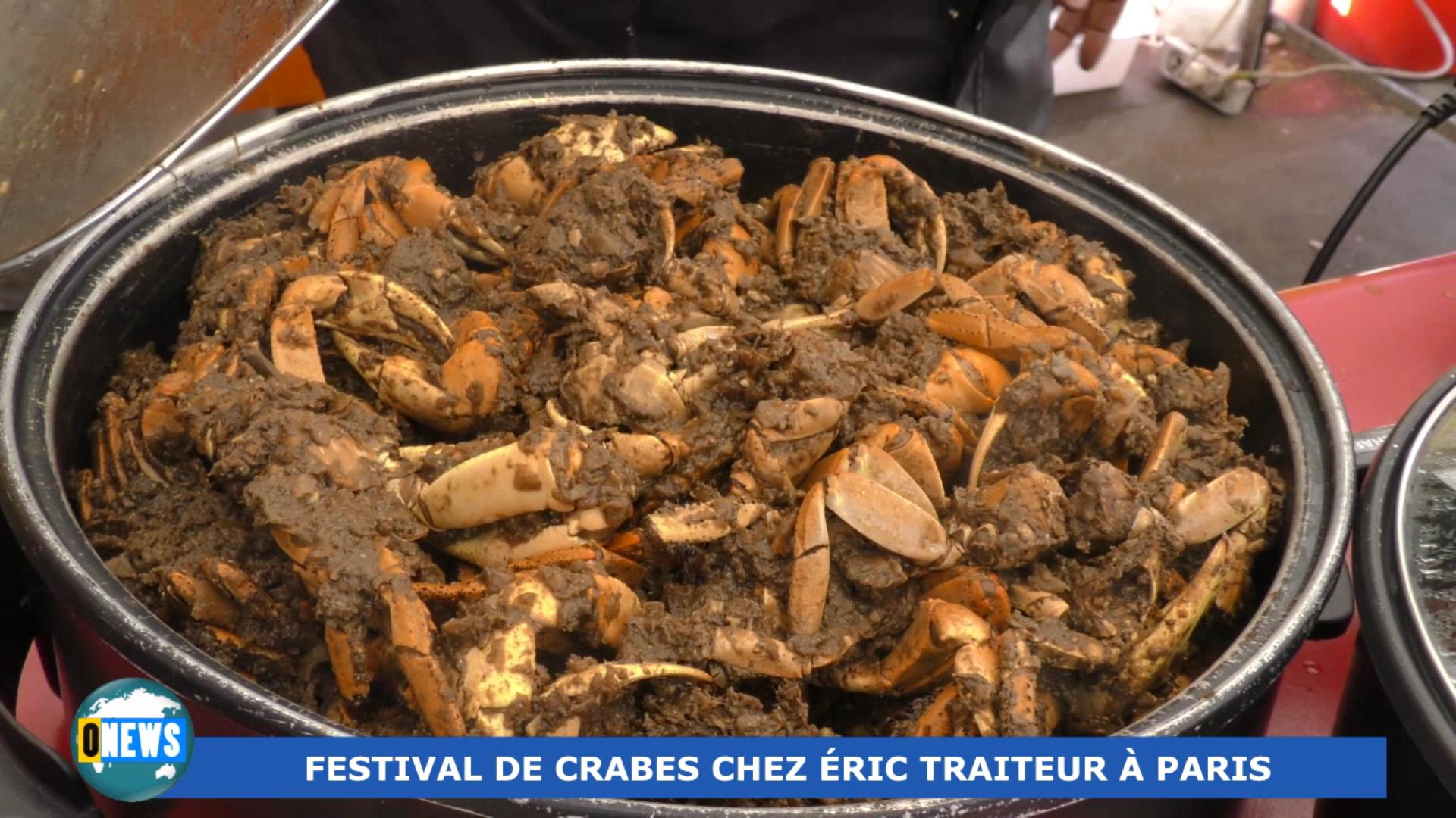 [Vidéo] OnewsHexagone. Festival de Crabes à Paris le week end dernier