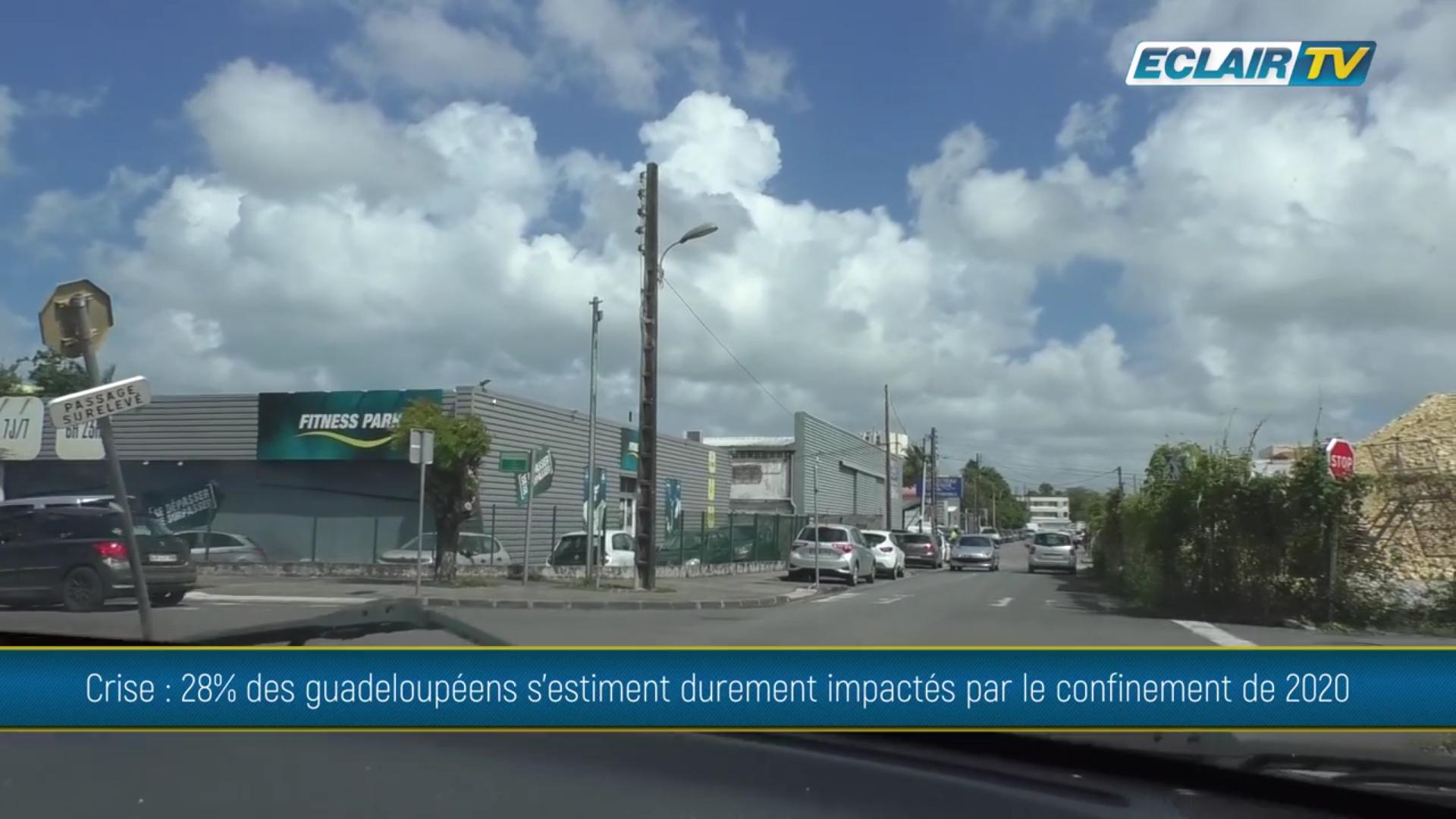 [Vidéo] Onews Guadeloupe. Covid. 28% des habitants s estiment durement impactés (ECLAIR TV)