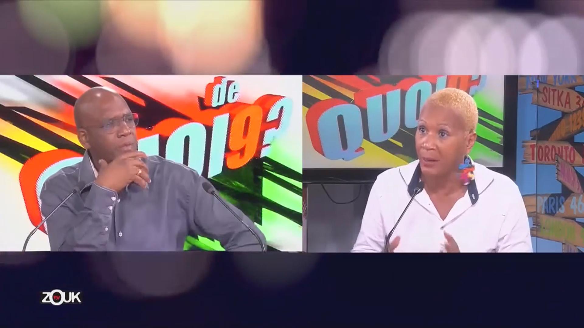 [Vidéo] Onews Martinique. Manuela AMABLE POTIRON Présidente de  l'Association des Usagers des transports de Martinique invitée de ZoukTv
