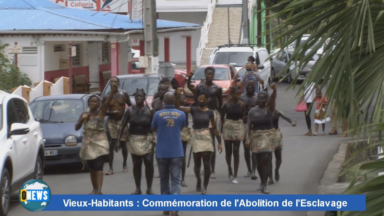 [Vidéo] Onews Guadeloupe. Commémoration de l'Abolition de l 'esclavage à Vieux habitants