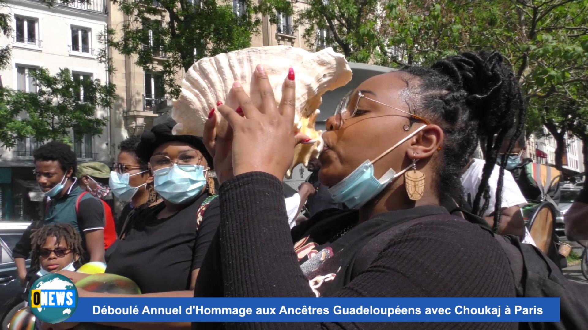 [Vidéo] Onews Hexagone. Déboulé à Paris en Hommage aux Ancêtres victimes de l esclavage avec choukaj