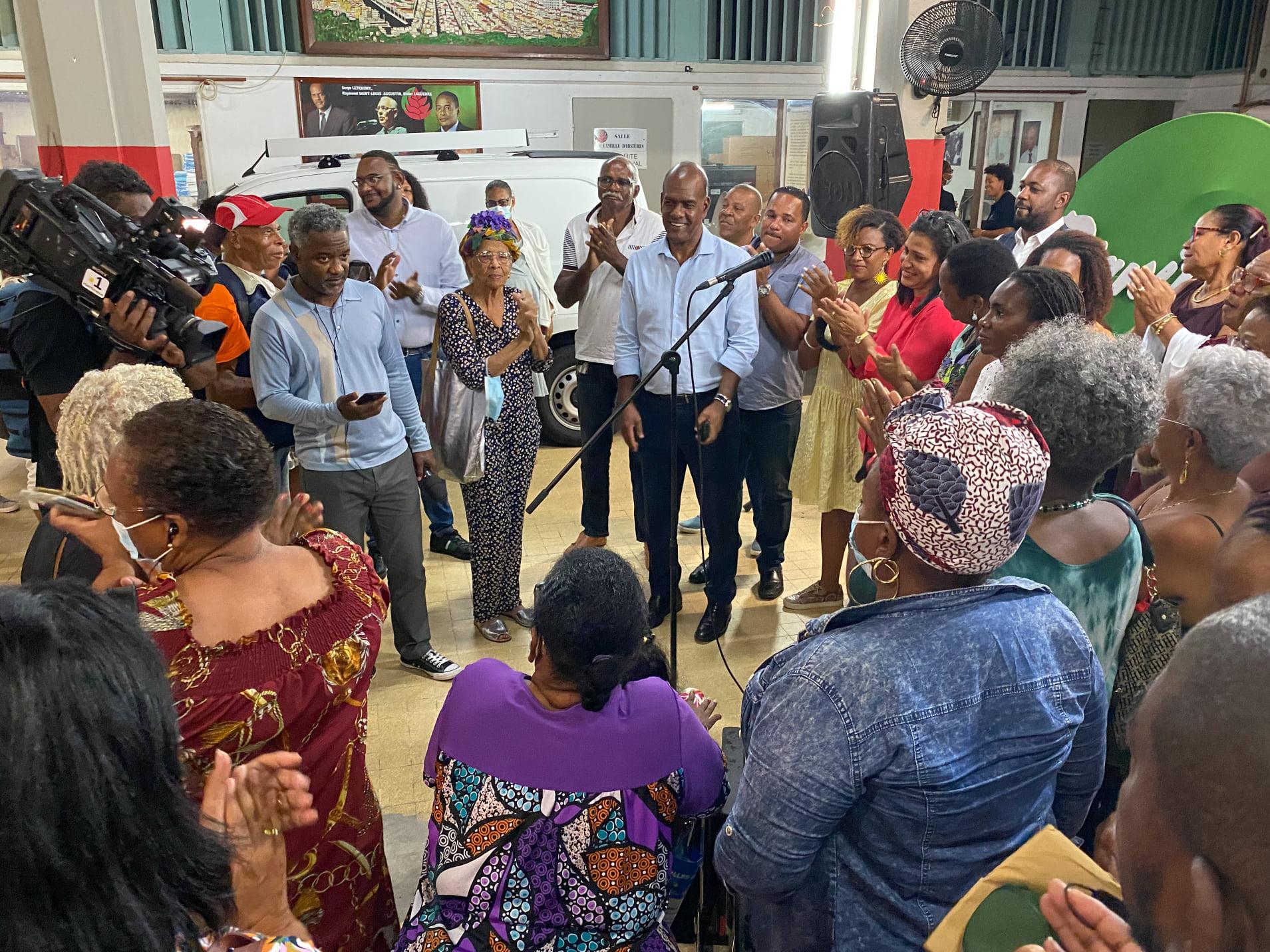 [Vidéo] Onews Martinique. Élections Territoriales. Victoire de Serge LETCHIMY au 1er tour