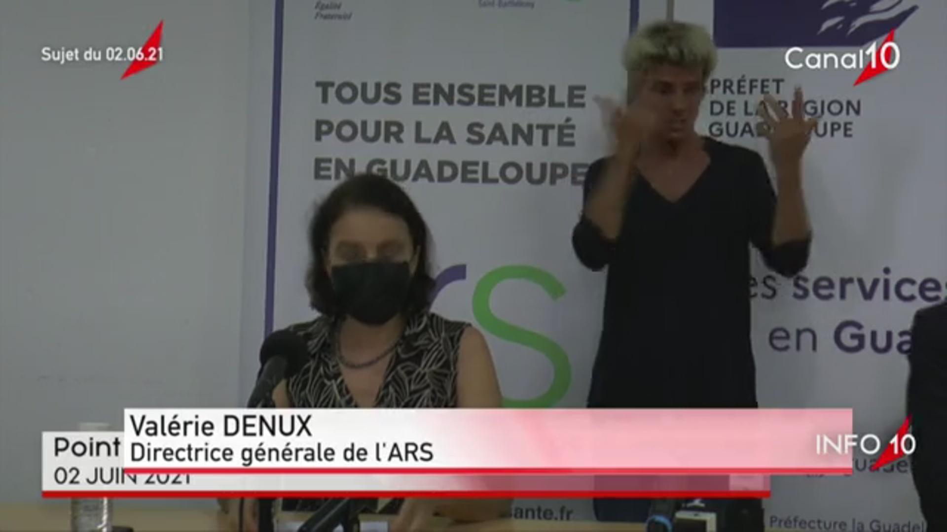 [Vidéo] Onews Guadeloupe. Covid. Le Préfet de région décide l'allègement progressif des mesures.