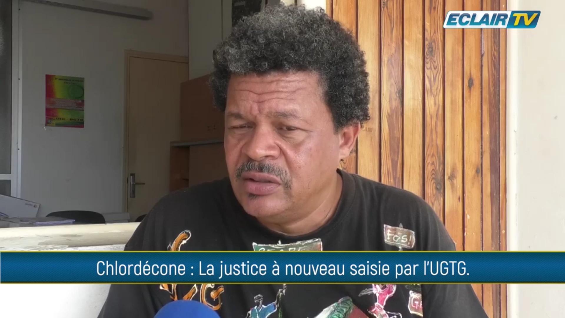 [Vidéo] Onews Guadeloupe. Chloredécone. La justice à nouveau saisie par l UGTG (Eclair tv)