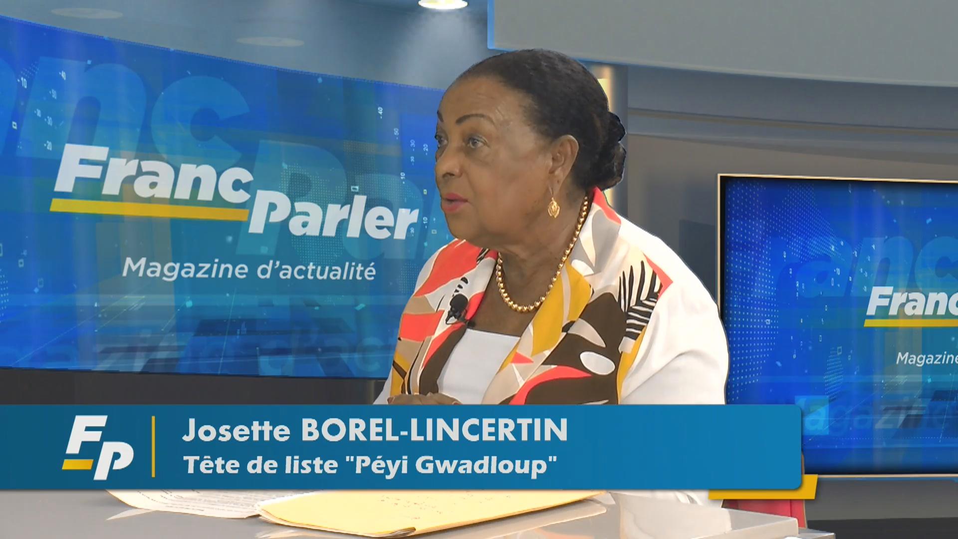[Vidéo] Onews Guadeloupe. Josette BOREL LINCERTIN candidate aux prochaines élections invitée de Eclair Tv