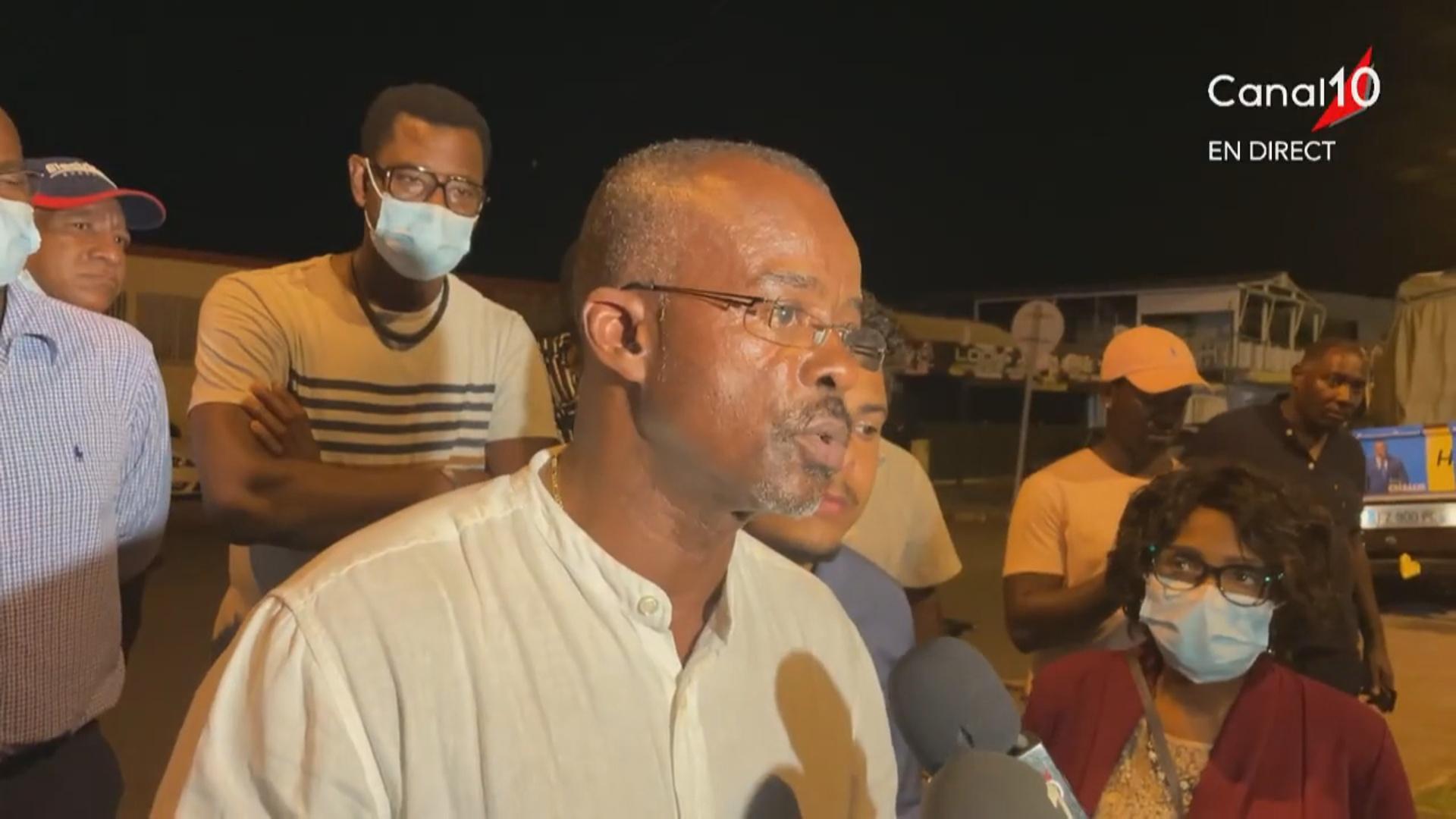 Onews Guadeloupe. Réaction de Ary CHALUS après le premier tour  des Régionales