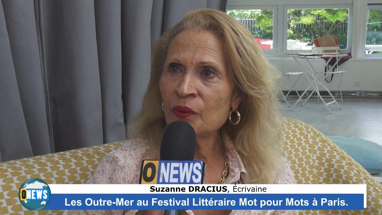 Onews Hexagone. Le Festival littéraire «Mot pour Mots» à Paris avec la présence d'auteurs ultramarins
