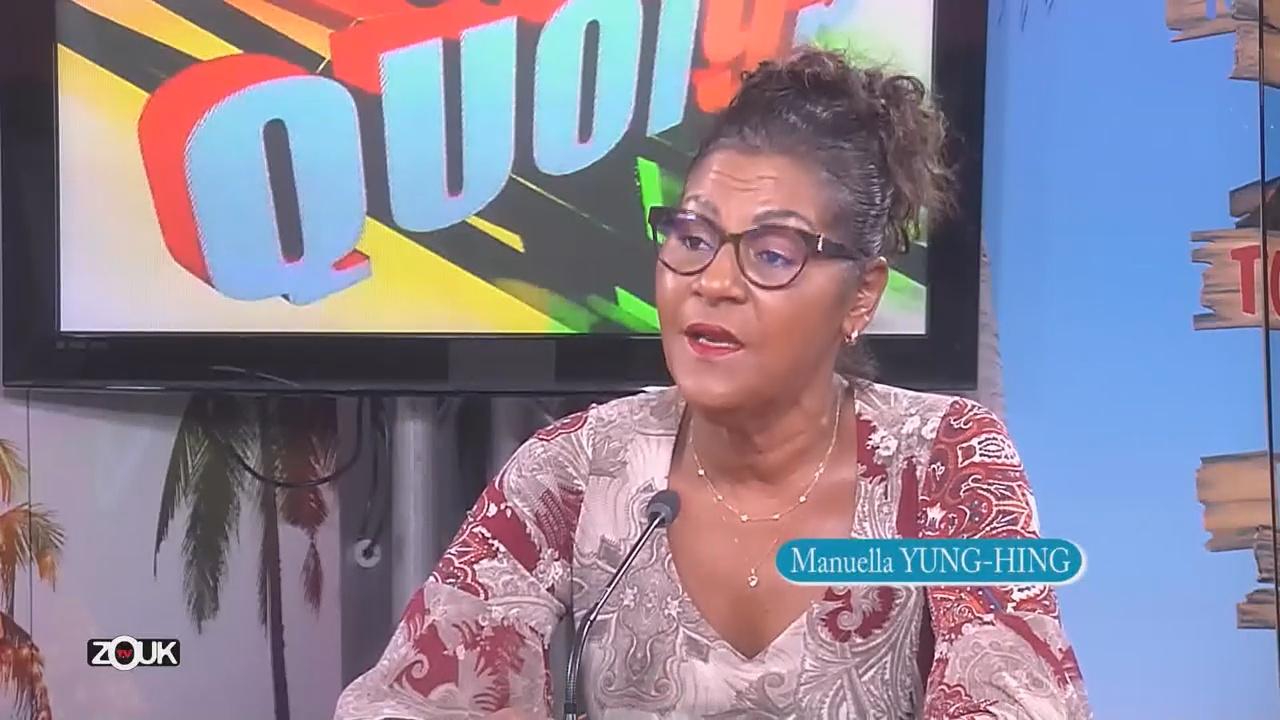 [Vidéo] Martinique. Manuella Yung-Hing Responsable du Domaine de la Pagerie invitée de Zouk Tv
