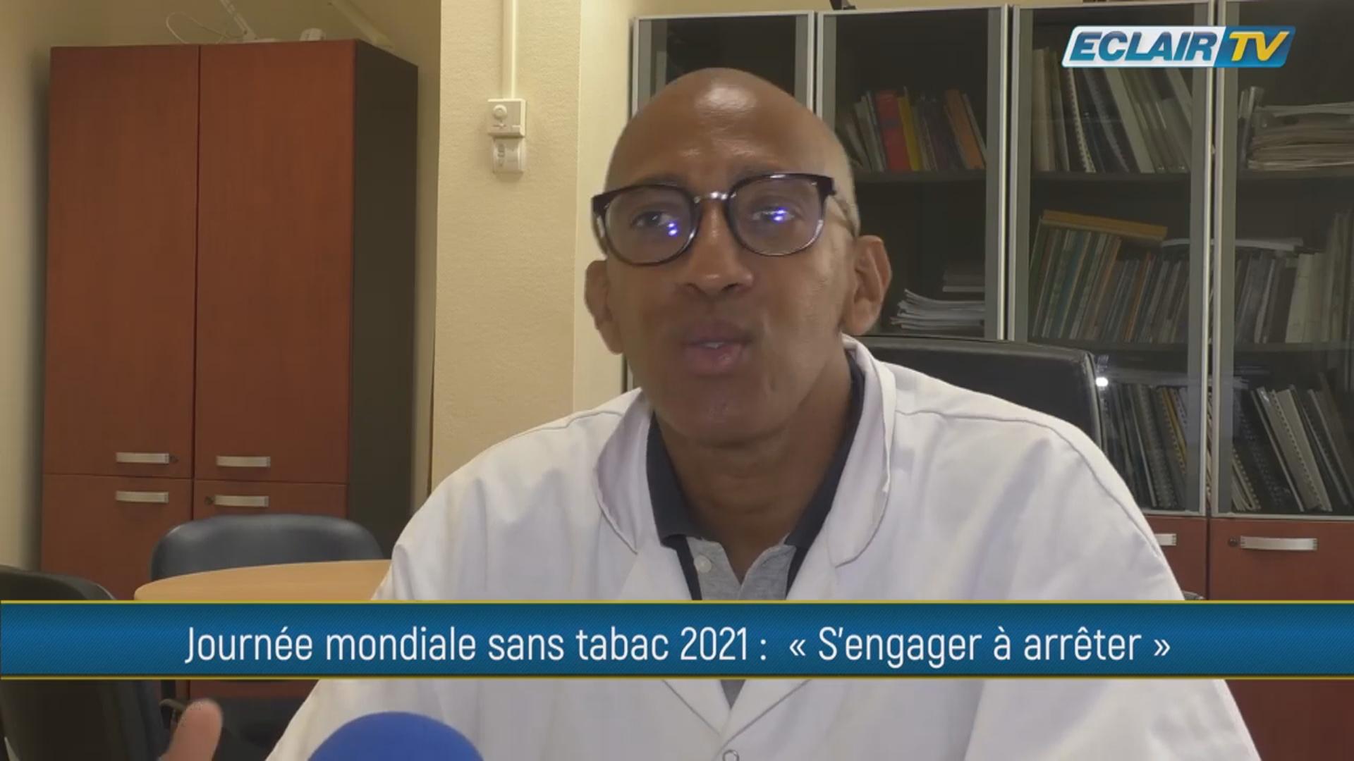 [Vidéo] Onews Guadeloupe.  Journée mondiale 2021 sans tabac. (Eclair TV)