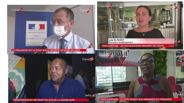 Onews Guadeloupe. Le Jt de Canal 10