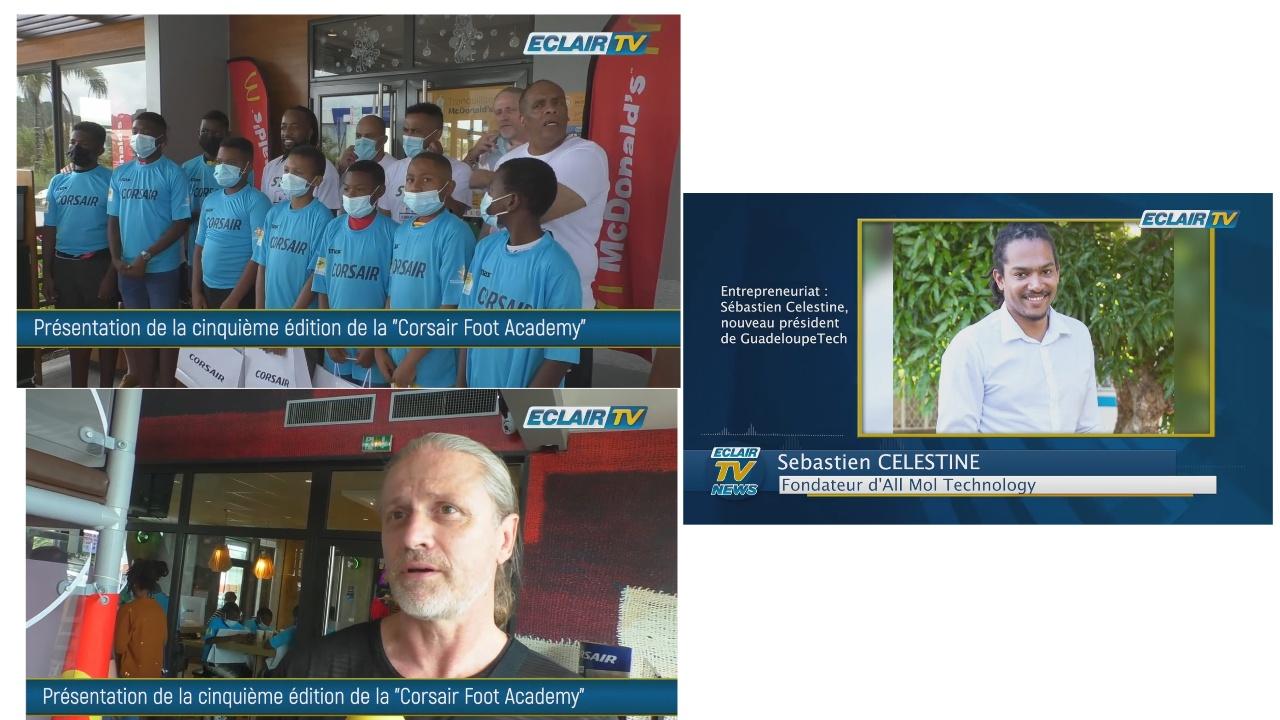 [Onews Guadeloupe. Le Jt de Eclair TV