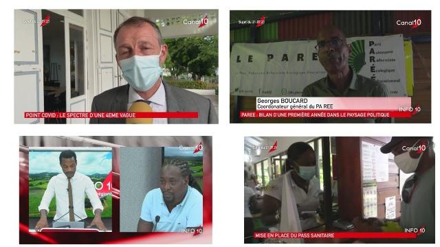[Vidéo] Onews Le jt de canal 10