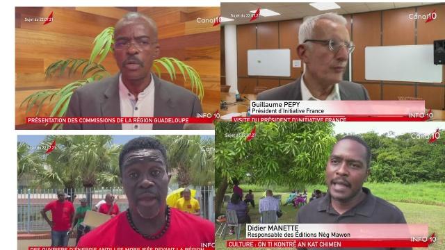 [Vidéo] Onews Guadeloupe. Le Jt de Canal 10