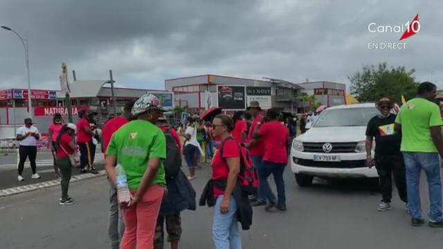 Onews Guadeloupe. Mobilisation des organisations syndicales ce mardi 6 juilllet