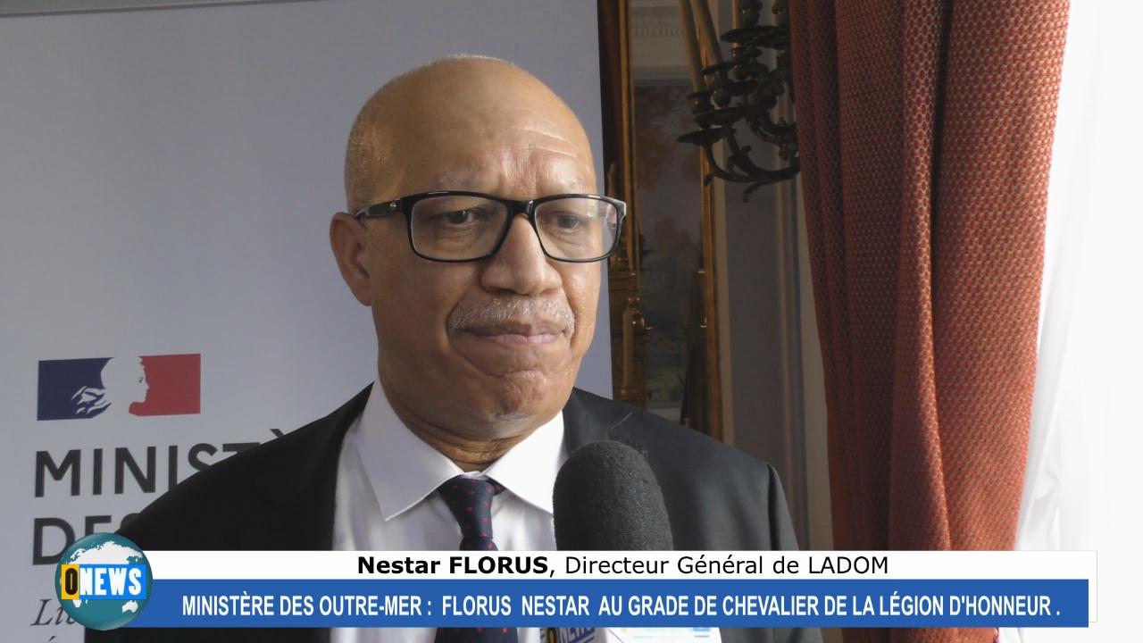 [Vidéo] Hexagone. Florus NESTAR Directeur de LADOM reçoit l'insigne de la légion d'honneur au Ministère des Outre mer
