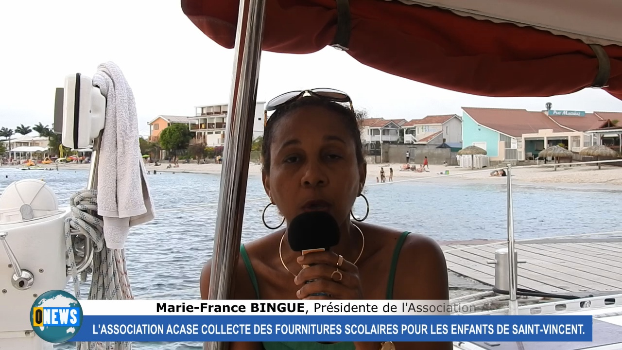 [Vidéo] Martinique. Collecte de fournitures scolaires pour les enfants de Saint Vincent